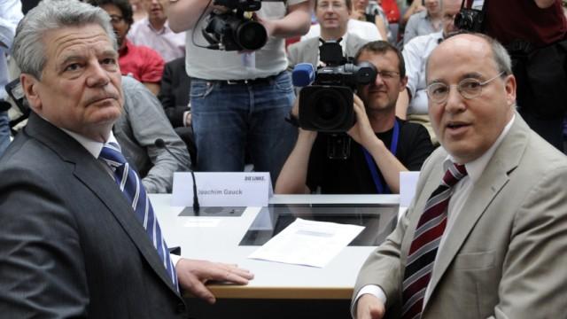 Gregor Gysi, Joachim Gauck