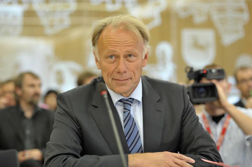 Juergen Trittin sagt vor Asse-Untersuchungsausschuss aus