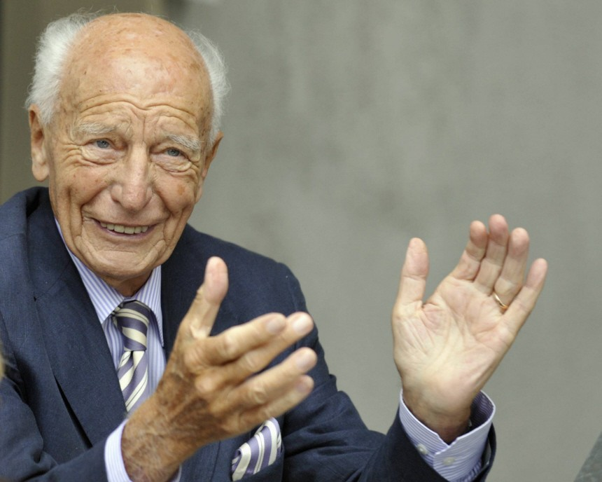 Altbundespraesident Scheel feiert 90. Geburtstag