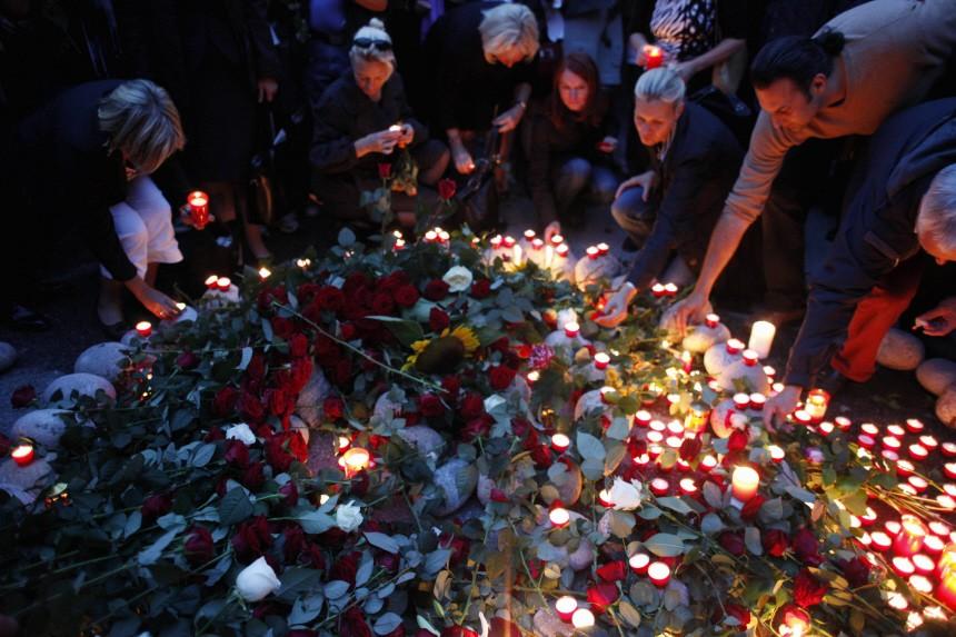 Trauerfeier fuer Dominik Brunner in Muenchen