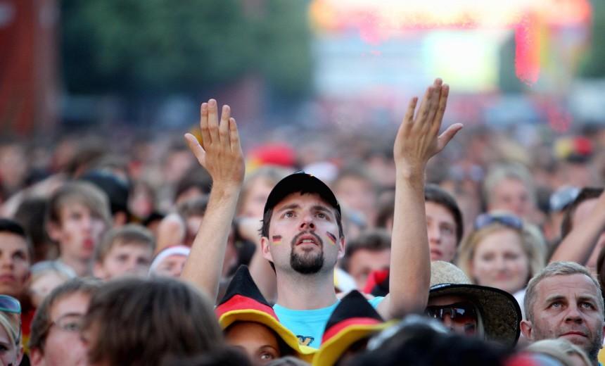 WM 2010: Public Viewing in Berlin