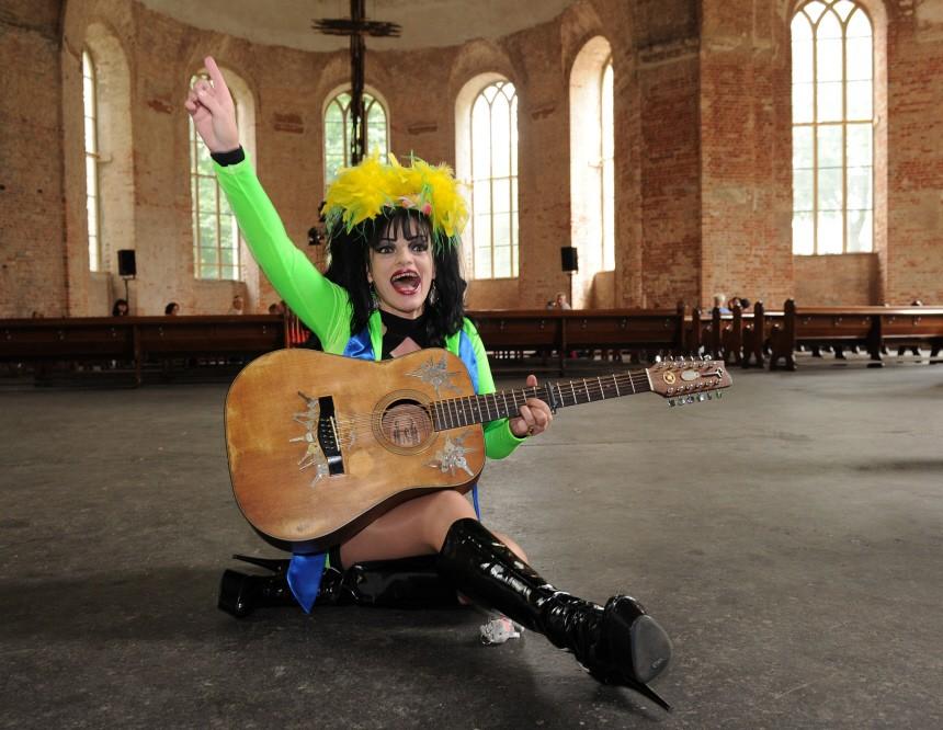 Nina Hagen stellt ihr neues Album vor