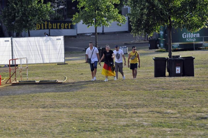 WM 2010: Public Viewing in Koeln