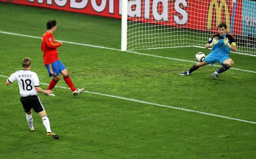 WM 2010 - Deutschland - Spanien