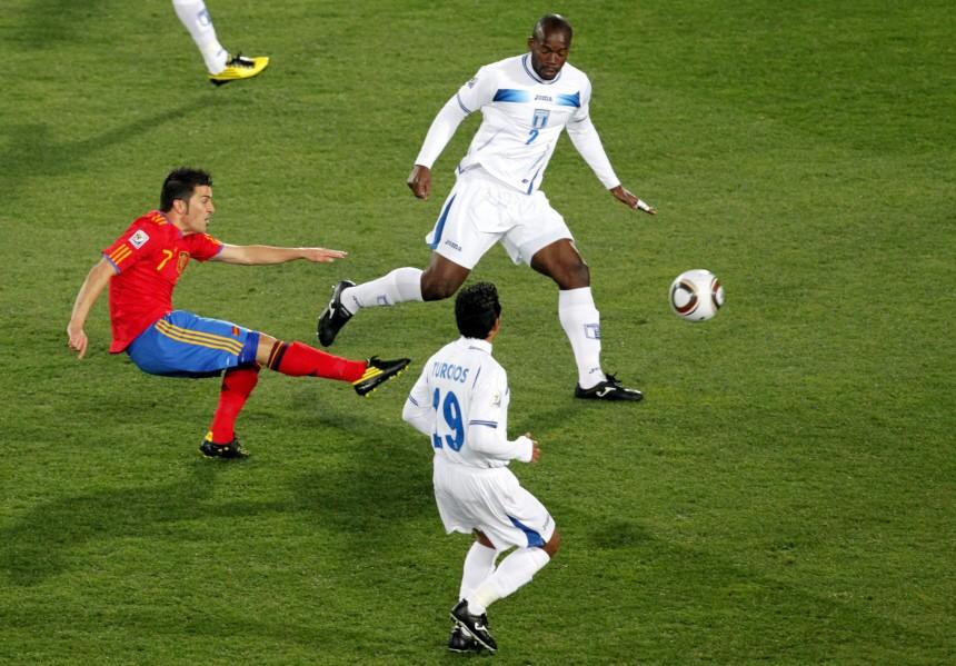 WM 2010 - Spanien - Honduras