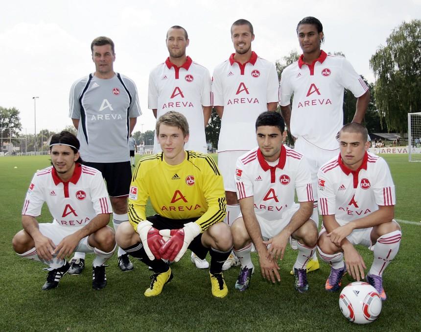 Trainingsauftakt beim 1. FC Nürnberg