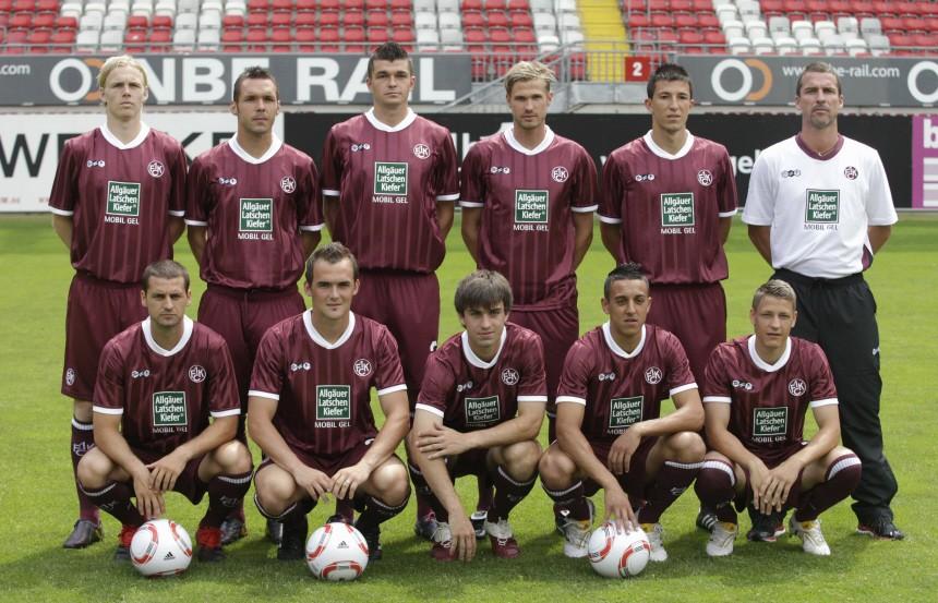 Mannschaftsvorstellung 1. FC Kaiserslautern