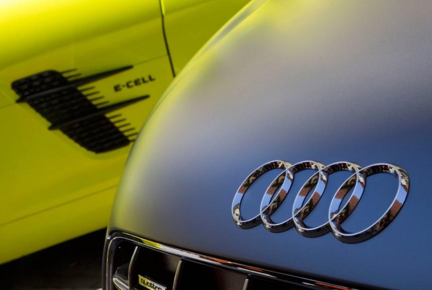 Vergleich Audi e-tron