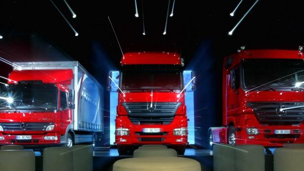 Daimler verkauft 2008 mehr Lkw