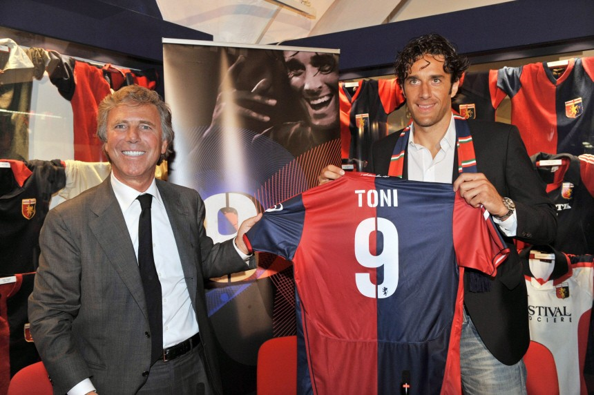 Toni gibt Einstand beim FC Genua