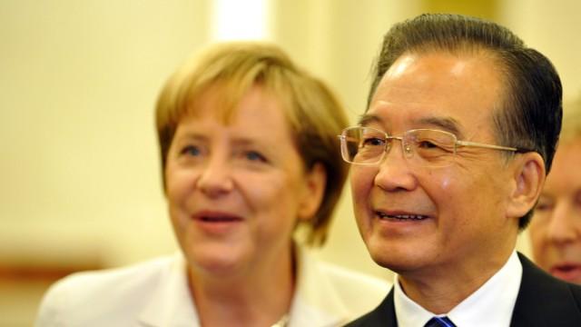 Merkel auf Asienreise -