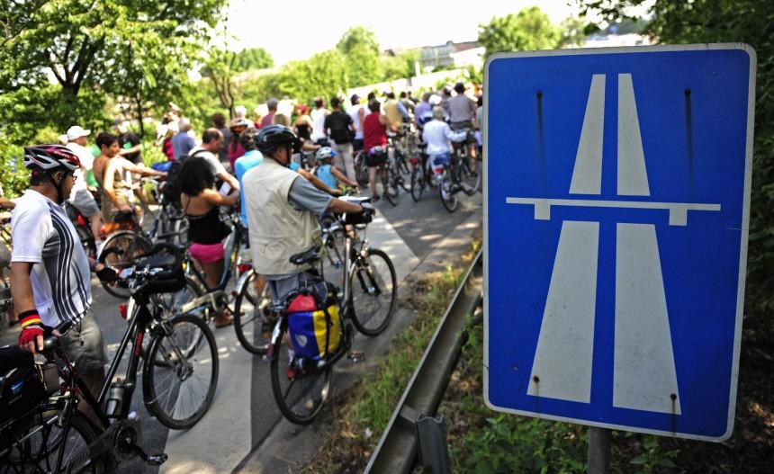 Projekt 'Still-Leben Ruhrschnellweg'