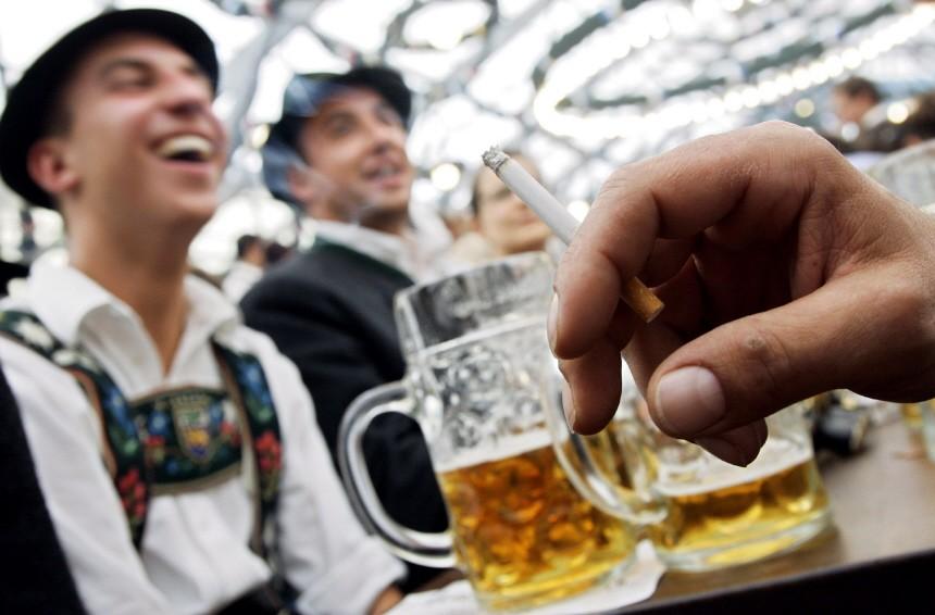Bayerischer Landtag zu Lockerung Rauchverbot