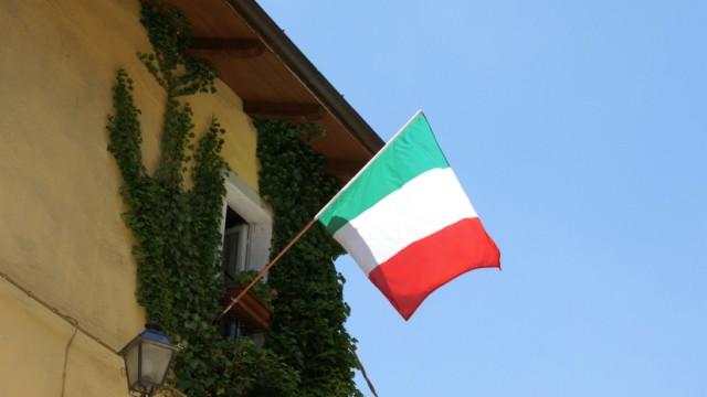Italienische Flagge Italien