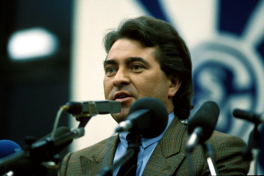 Präsident Günther Eichberg (Schalke)