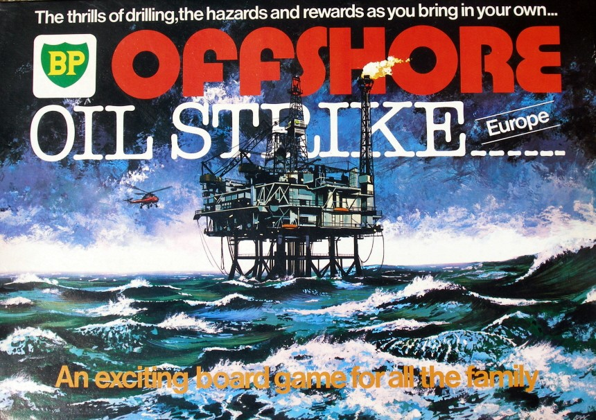 The House on the Hill Toy Museum BP Offshore Oil Strike