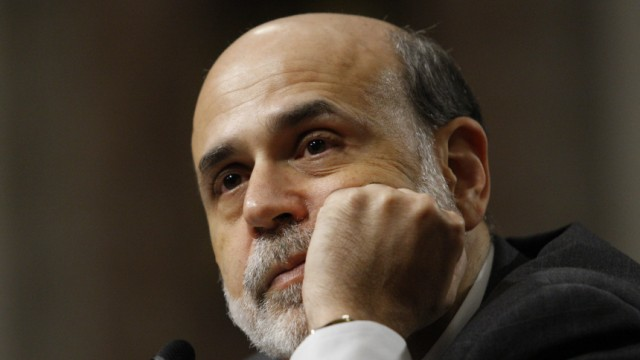 Federal Reserve Board Chairman Ben Bernanke testifies before the Senate Banking, Housing and Urban Affairs Committee in Washington