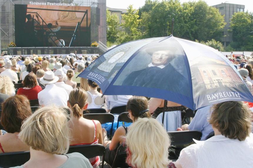 Live-Uebertragung der Bayreuther Festspiele
