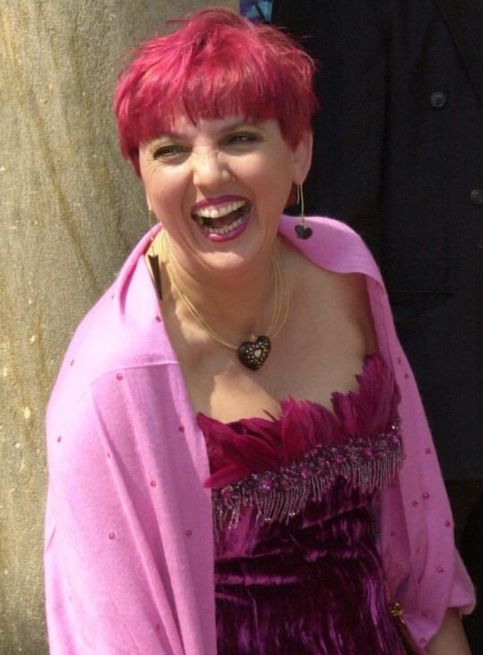 Claudia Roth bei den Bayreuther Festspielen, 2004