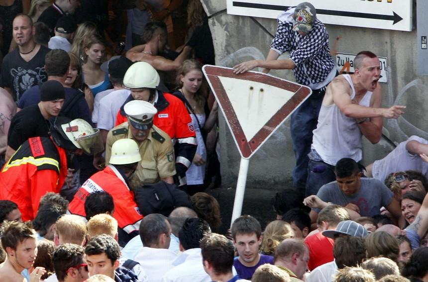 Massenpanik auf der Loveparade in Duisburg, Getty Images