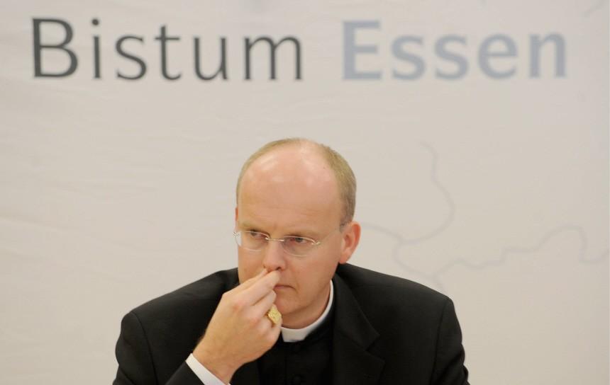 Pressekonferenz des Bistums Essen zu Missbrauchsfaellen