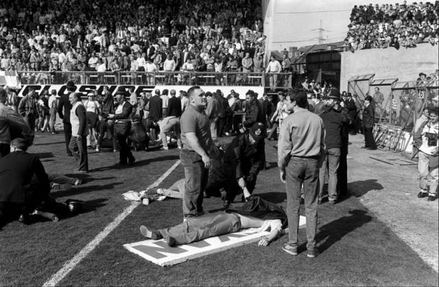 1989 SHEFFIELD HILLSBOROUGH-STADION