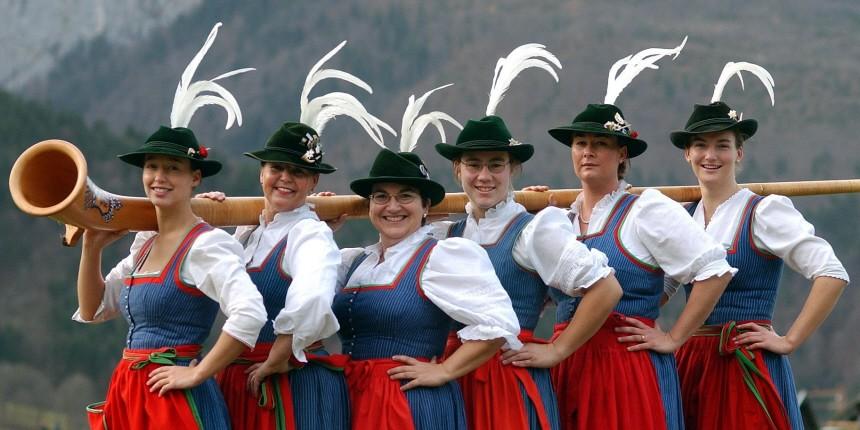 Deutschland Touristen Reiseführer, dpa