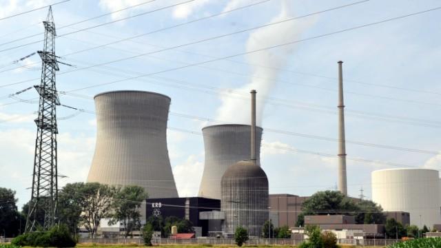 Restlaufzeit Kernkraftwerke - Gundremmingen
