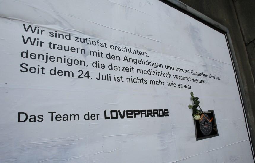 Loveparade-Katastrophe, Reuters