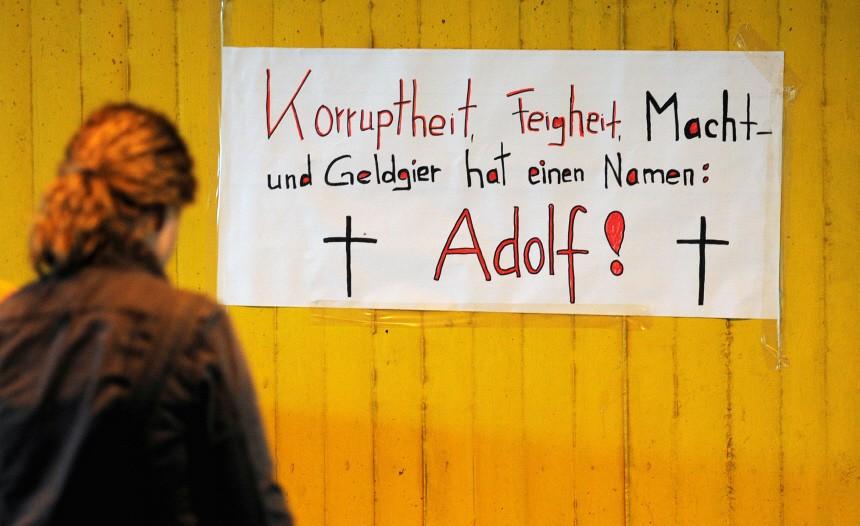 Trauer nach Katastrophe bei Loveparade, ddp