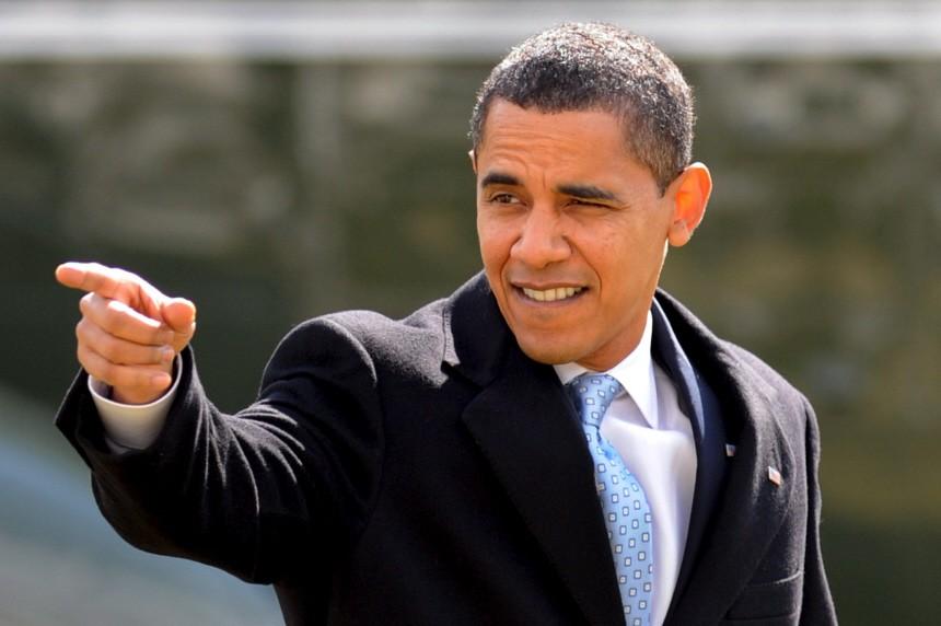 Obama zurück in Washington