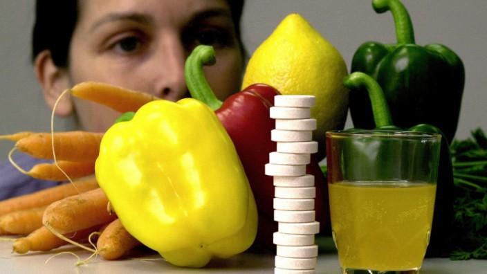 Gemüse statt Pillen