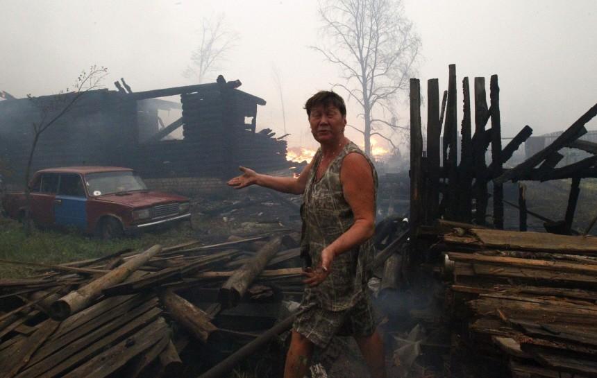 Waldbrände in Russland, Reuters