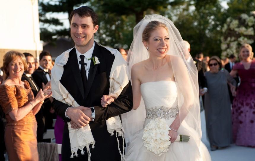 Amerikas Hochzeit des Jahres: Chelsea Clinton ist verheiratet