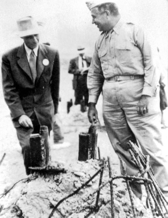 Oppenheimer und Groves