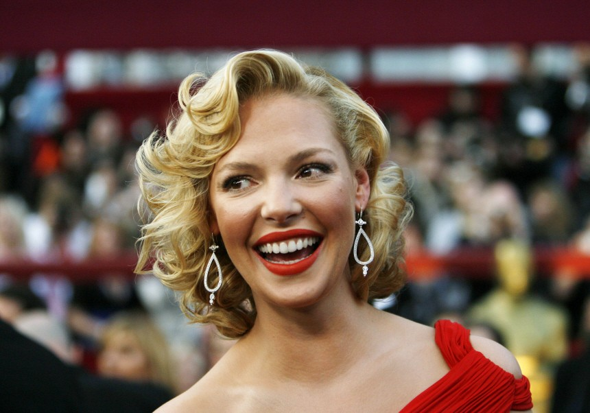 Actress Katherine Heigl arrives at the 80th annual Academy Awards in Hollywood
