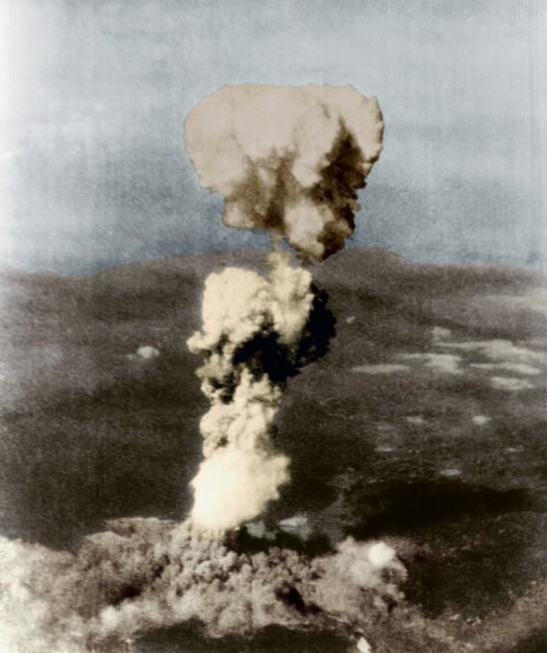 Abwurf der Atombombe über Hiroshima, 1945