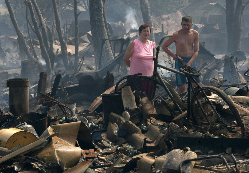 Waldbrände in Russland, AFP