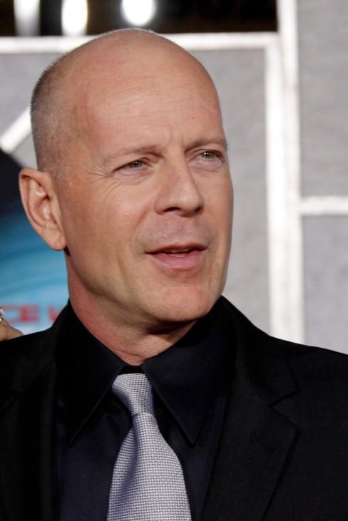 Weltpremiere 'Surrogates' - Bruce Willis und Frau