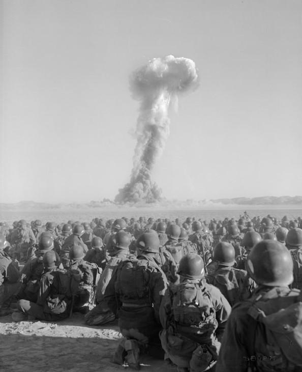Atombombentest Desert Rock