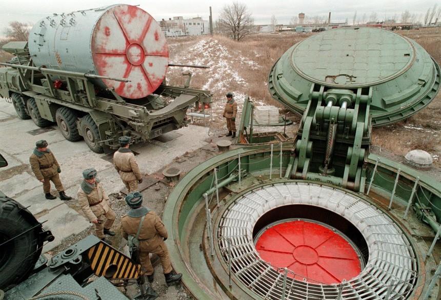 Raketenabschußanalge der russischen Armee