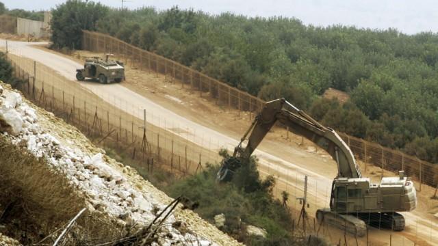 Neue Spannungen an Israels Grenze mit dem Libanon