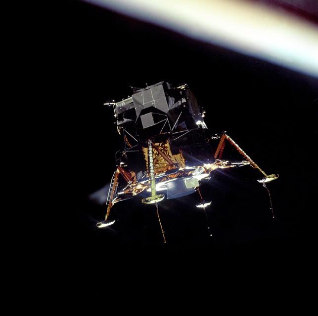 Apollo 11 Eagle Landefähre