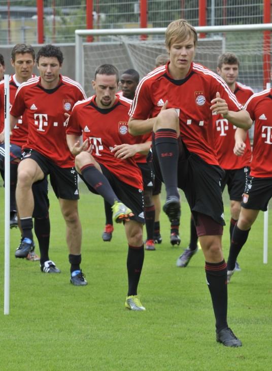 Mark van Bommel, Franck Ribery ,Holger Badstuber