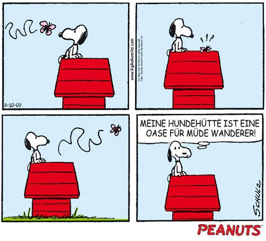 Peanuts, Dilbert, Reality Check