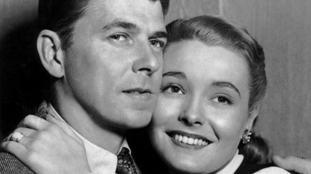 Ronald Reagan und Patricia Neal in 'John loves Mary', 1949
