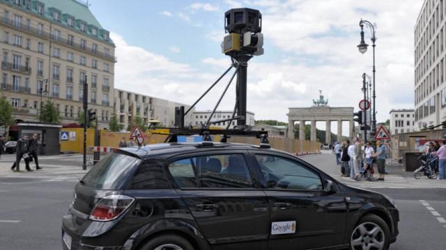 Google startet Street View in 20 deutschen Staedten