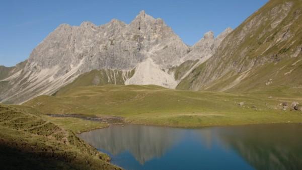 Alpen Bergseen Eissee
