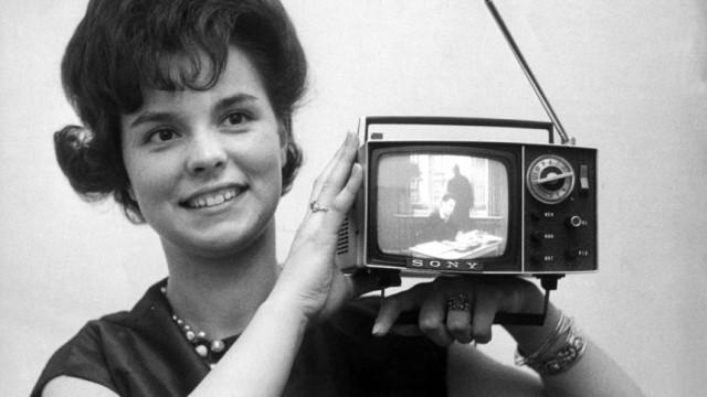Transistorfernseher von 1963