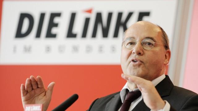 Statement - Fraktionsvorsitzender der Linkspartei, Gysi